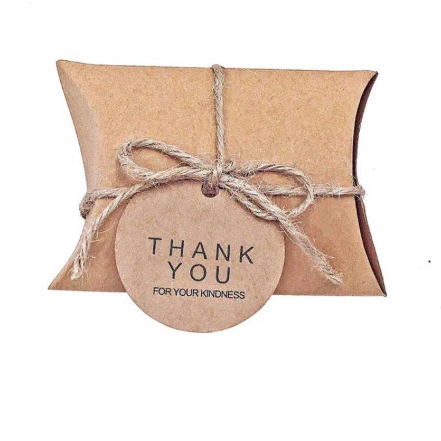 Geschenk doosjes / Cadeau doosjes - 50 stuks - DIY-1