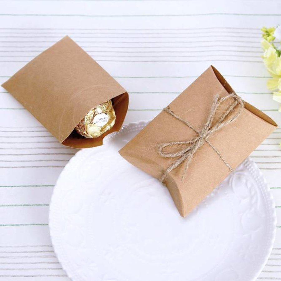 Geschenk doosjes / Cadeau doosjes - 50 stuks - DIY-2