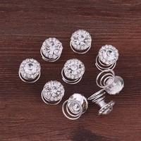 thumb-Big Crystal Curlies met Kristallen - 6 stuks-1
