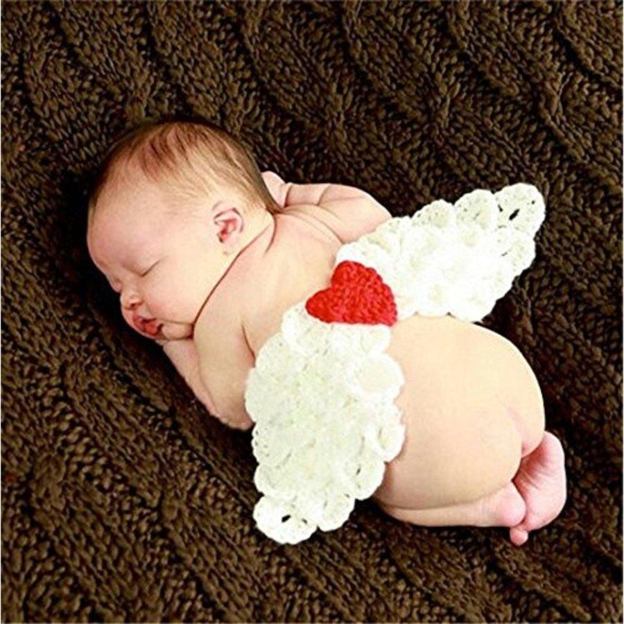 Gehaakt Setje Engel - Newborn-1