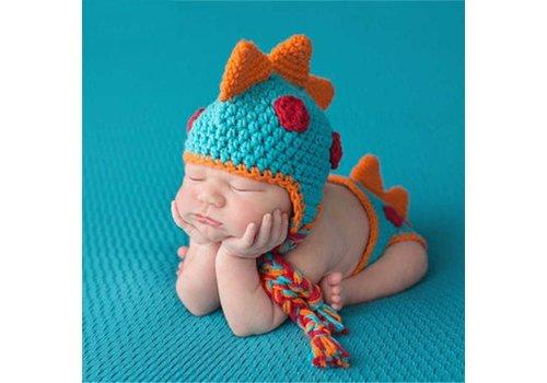 Gehaakt Setje Dino - Newborn