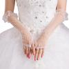 PaCaZa Prachtige Bruidshandschoenen - Wit