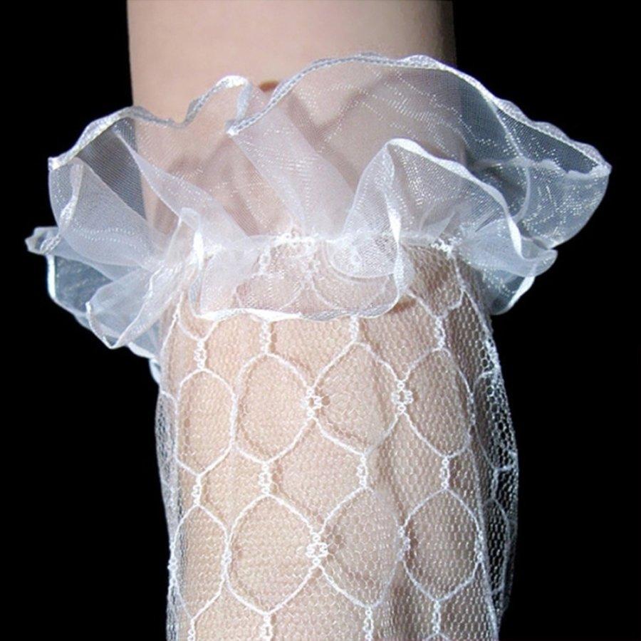Prachtige Bruidshandschoenen - Wit-3