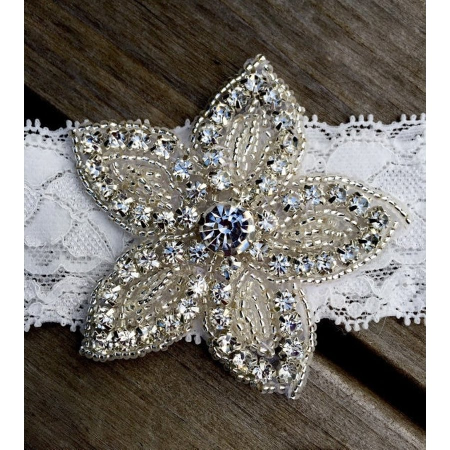 PaCaZa - Haar Sieraad / Haarband - 2 stuks - met Fonkelende Kristallen-4