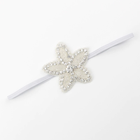 thumb-Haar Sieraad / Haarband - 2 stuks -  met Fonkelende Kristallen-5