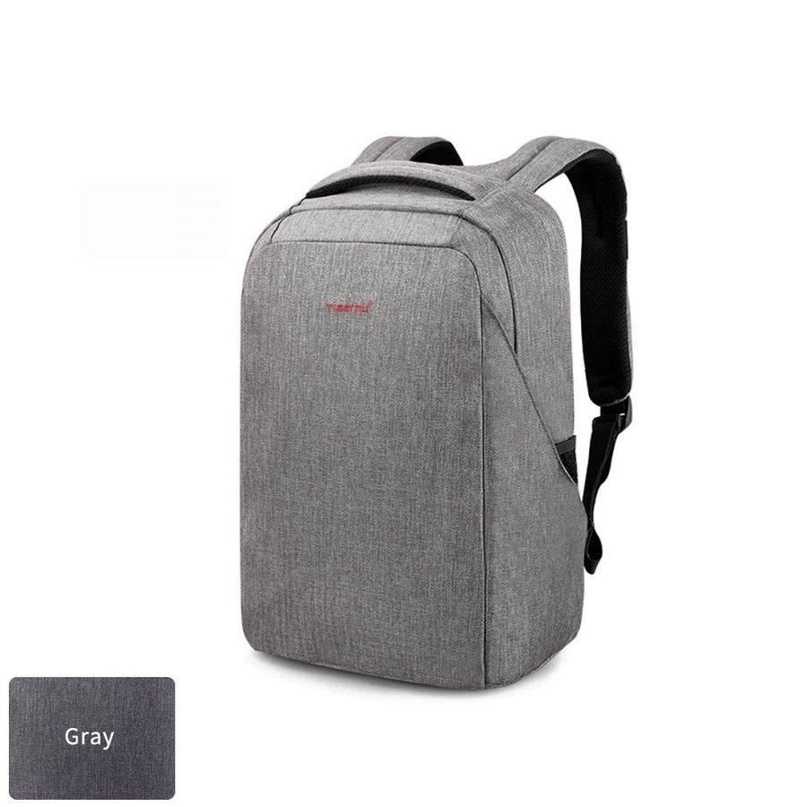 Anti-Diefstal Laptop rugzak 12,5 tot 16 inch - Grey - T-B3237-1