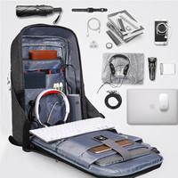 thumb-Anti-Diefstal Laptop rugzak 12,5 tot 16 inch - Grey - T-B3237-9