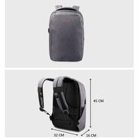 thumb-Anti-Diefstal Laptop rugzak 12,5 tot 16 inch - Grey - T-B3237-10