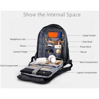 thumb-Anti-Diefstal Laptop rugzak 12,5 tot 16 inch - Grey - T-B3237-3