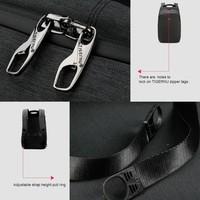 thumb-Anti-Diefstal Laptop rugzak 15, inch + Crossbodytas Black/Grey-8