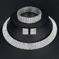 thumb-PaCaZa - Sieraden Set Sparkle (Ketting & Oorbellen)-1