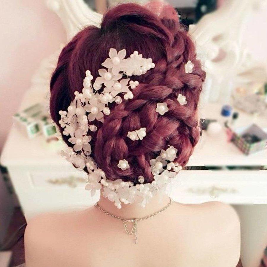 PaCaZa - Hairpins - Eye Catcher Flowers & Pearls - 2 Stuks-7