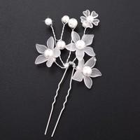 thumb-PaCaZa - Hairpins - Eye Catcher Flowers & Pearls - 2 Stuks-4