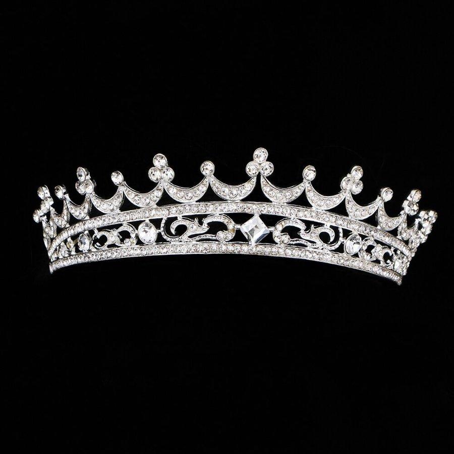Elegante Kristallen Tiara / Kroon-6