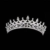 thumb-Elegante Kristallen Tiara / Kroon-5