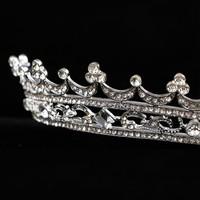 thumb-Elegante Kristallen Tiara / Kroon-3