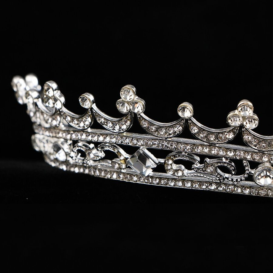 Elegante Kristallen Tiara / Kroon-3