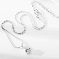 thumb-Sieraden Set Diamond (Ketting & Oorbellen)-2