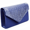 PaCaZa Elegant Bruidstasje - Clutch - Donker Blauw