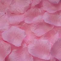thumb-Rozenblaadjes - Zacht Roze (ca. 100 stuks)-3