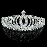 thumb-Elegante Fonkelende Tiara / Kroon-1