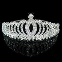 thumb-PaCaZa - Elegante Fonkelende Tiara / Kroon-1