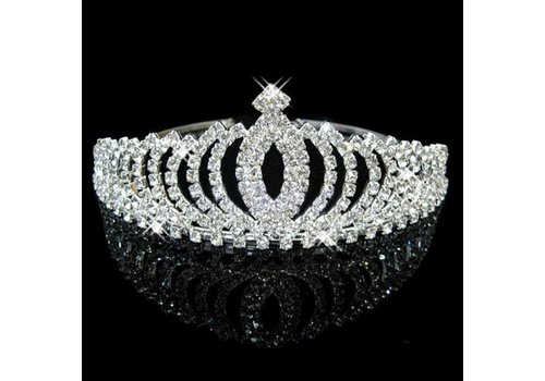 Elegante Fonkelende Tiara / Kroon