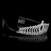 thumb-PaCaZa - Elegante Fonkelende Tiara / Kroon-2