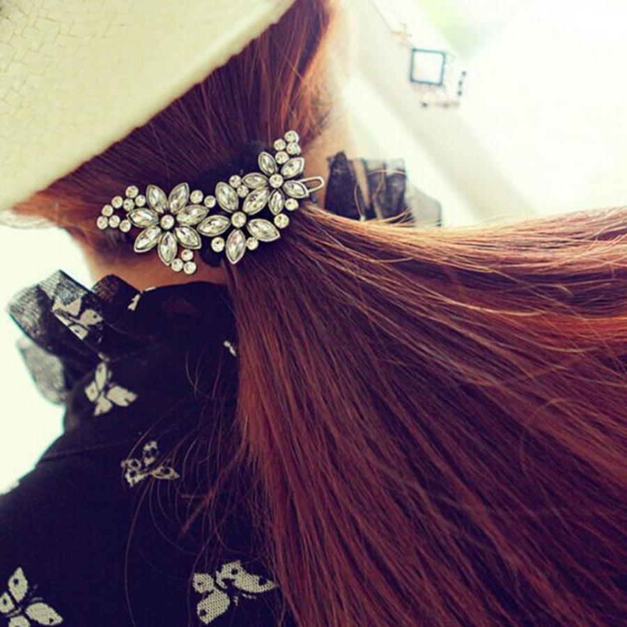 Prachtige Bloemen Haarclip-4