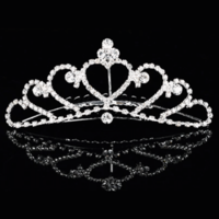 thumb-Elegante Tiara Kam met Fonkelende Kristallen-3