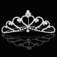 thumb-PaCaZa - Elegante Tiara Kam met Fonkelende Kristallen-3