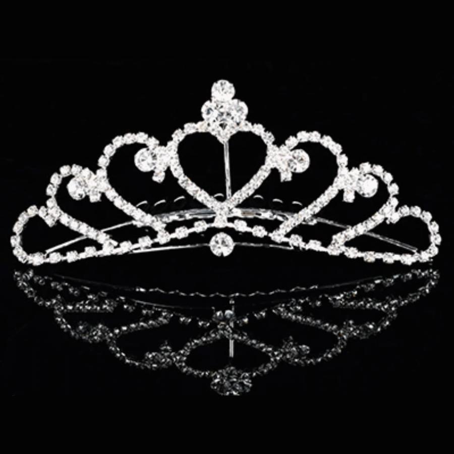 PaCaZa - Elegante Tiara Kam met Fonkelende Kristallen-3