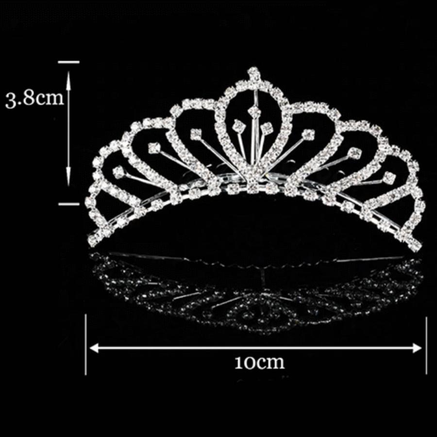 PaCaZa - Chique Tiara Kam met Fonkelende Kristallen-2