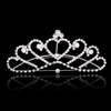 PaCaZa Elegante Tiara Kam met Fonkelende Kristallen