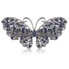 PaCaZa Moderne Haarclip - Butterfly - Donker Blauw