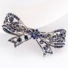 PaCaZa Moderne Haarclip - Strik - Donker Blauw
