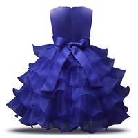 thumb-Communiejurk / Bruidsmeisjesjurk - Suzy - Donker Blauw - Maat 116/122-2