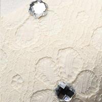 thumb-Communiejurk / Bruidsmeisjesjurk - Fay - Champagne - Maat 98/104-5