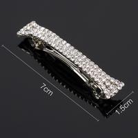 thumb-PaCaZa - Moderne Fonkelende Haarclip / Haar Sieraad met Kristallen-3