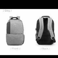 thumb-Heren rugzak Anti diefstal voor laptops tot 15,6 inch - Grijs-2