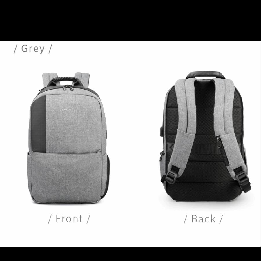 Heren rugzak Anti diefstal voor laptops tot 15,6 inch - Grijs-2