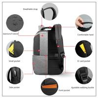thumb-Heren rugzak Anti diefstal voor laptops tot 15,6 inch - Grijs-3