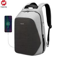 thumb-Anti-Diefstal Laptop rugzak 15,6 inch Grey - B3351-1