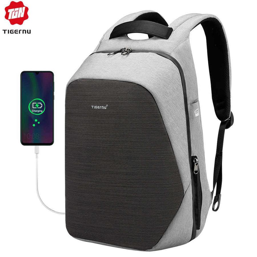 Anti-Diefstal Laptop rugzak 15,6 inch Grey - B3351-1