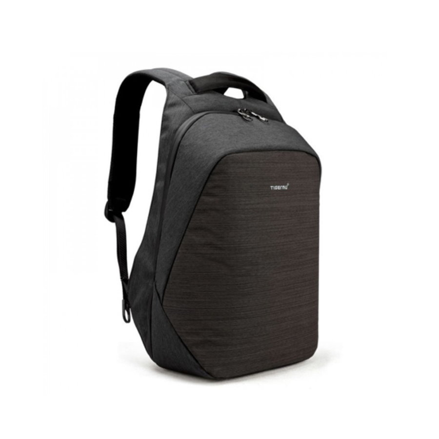 Anti-Diefstal Laptop rugzak 15, inch + Crossbodytas Black/Grey-2