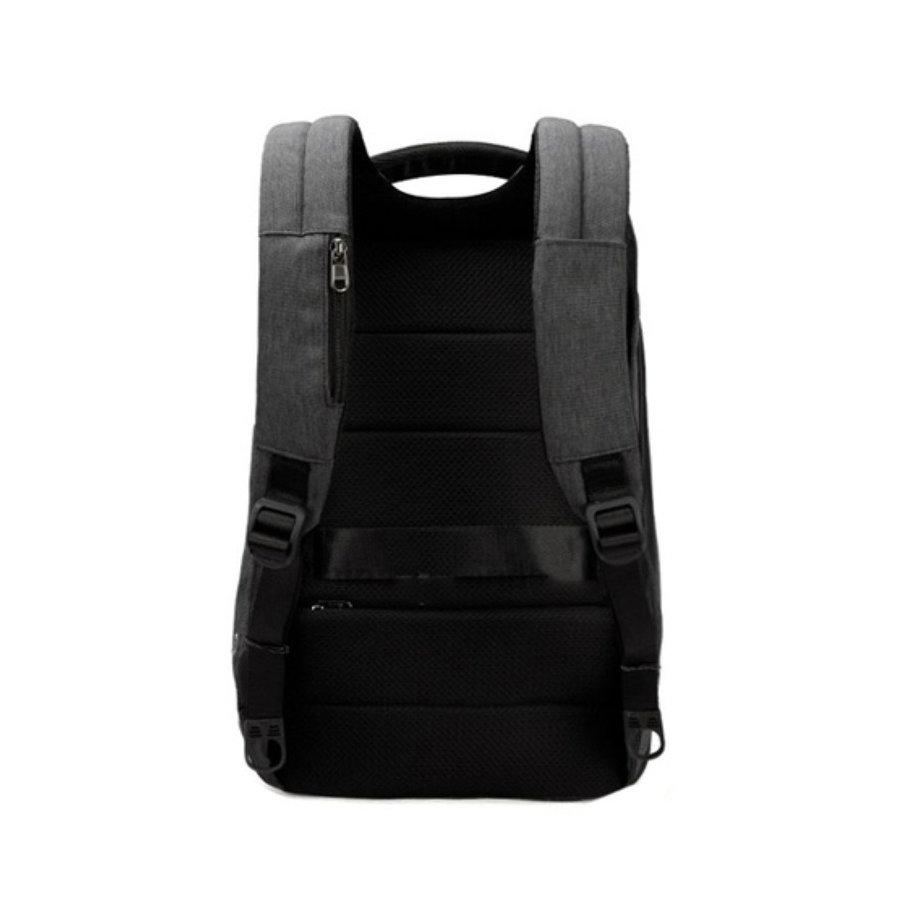 Anti-Diefstal Laptop rugzak 15, inch + Crossbodytas Black/Grey-3