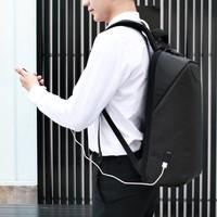 thumb-LockIT - laptop rugzak - anti diefstal - 12,5 tot 15,6 Inch - zwart grijs-3
