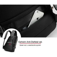 thumb-LockIT - laptop rugzak - anti diefstal - 12,5 tot 15,6 Inch - zwart grijs-6