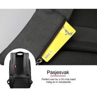 thumb-LockIT - laptop rugzak - anti diefstal - 12,5 tot 15,6 Inch - zwart grijs-8