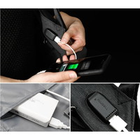 thumb-LockIT - laptop rugzak - anti diefstal - 12,5 tot 15,6 Inch - grijs-4